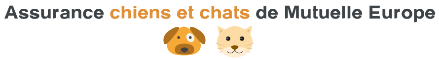 assurance chien chat mutuelle europe