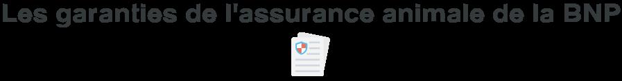 garanties assurance animale bnp
